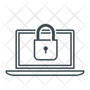 Laptop Locked Protection Icon