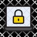 Lock Laptop Security Icon