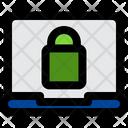 Laptop Lock Icon