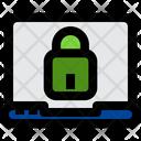 Laptop Lock Laptop Computer Icon
