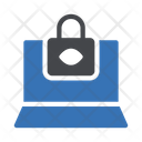 Lock Protection Laptop Icon