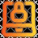 Laptop Lock Laptop Password Laptop Protection Icon