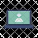 Laptop Login Laptop User Login Screen Icon
