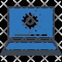 Laptop maintenance Icon