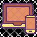Laptop Mobile Icon