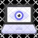 Monitoring System Monitoring Laptop Monitoring Icon