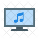 Laptop Music Icon