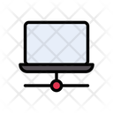 Laptop Computer Network Icon