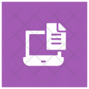 Laptop Notes Icon