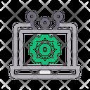 Laptop Optimization Icon