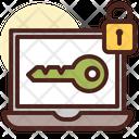 Laptop Password Key Laptop Key Icon