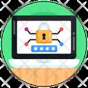 Laptop Lock Laptop Password Laptop Passcode Icon