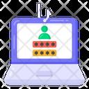 Laptop Phishing Icon