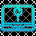 Laptop Pin Icon