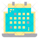 Laptop Plan Icon