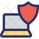 Laptop Protection Protection Security Icon