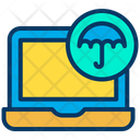 Computing Insurance Protection Icon