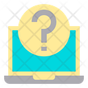 Laptop Question Icon
