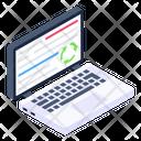 Laptop Recycle Icon