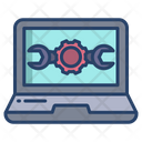 Laptop Repair Laptop Service Laptop Configuration Icon