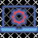 Laptop Repairing Icon