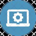 Laptop Repairing Laptop Settings Optimization Icon