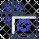 Laptop Restore Icon
