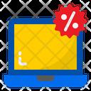 Laptop Sale Icon