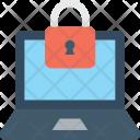 Laptop Security Lock Icon