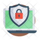 Laptop Security Icon