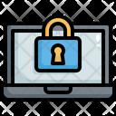 Laptop Security Error Icon