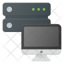Laptop Server Icon