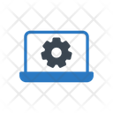 Laptop Setting Icon