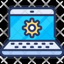 Online Engineering Cogwheel Setting Icon