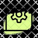 Laptop Setting Icon