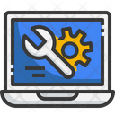 Laptop Setting Laptop Technical Icon