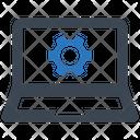 Laptop Settings Configuration Icon