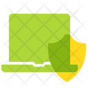 Protection Laptop Shield Icon