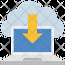 Laptop Storage Icon