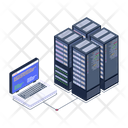System Storage Storage Servers Server Room Icon