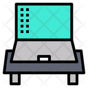 Laptop Table Icon