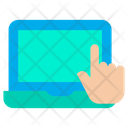 Laptop Touch Icon