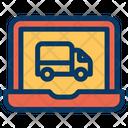 Laptop Truck Icon