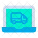 Laptop Truck Icon