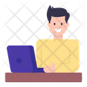 Laptop User Icon