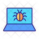 Cyber Security Computer Icon