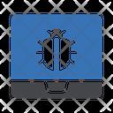 Laptop Virus Laptop Bug Virus Icon