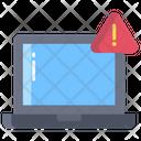 Artboard Laptop Warning Laptop Alert Icon