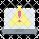 Laptop Warning Warning Error Notification Icon