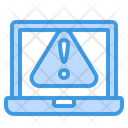 Laptop Warning Icon
